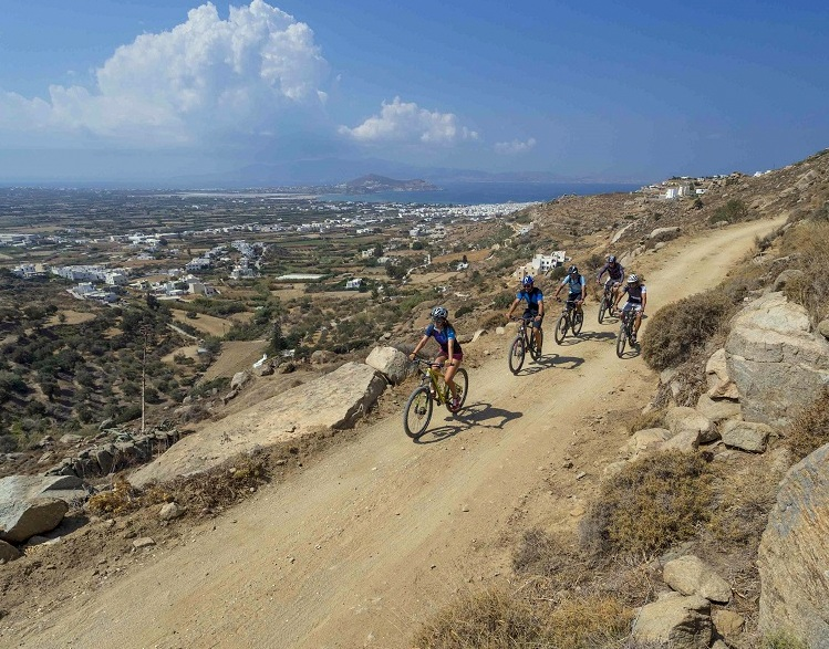Mountain Biking Naxos