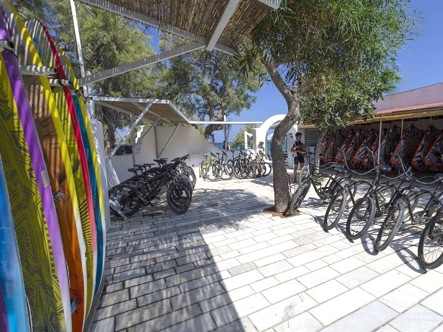 Bike center Flisvos sportclub naxos greece griechenland mountainbiking bikecenter bikereisen urlaub ferien sommer