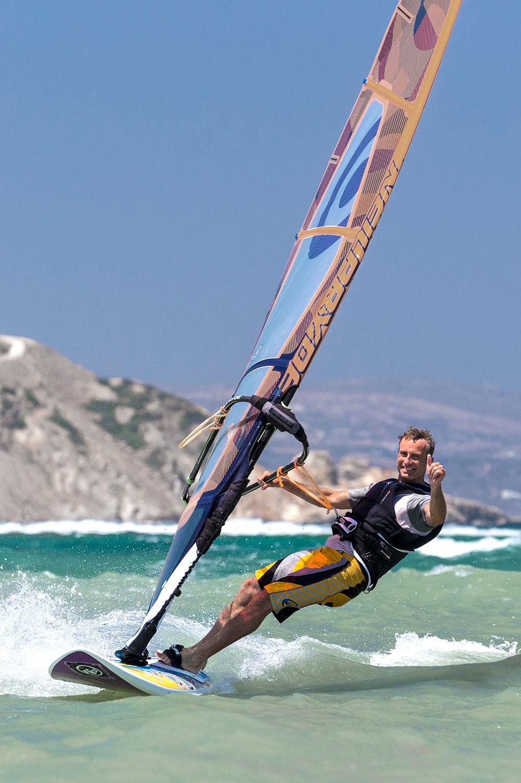 windsurfing flisvos sportclub naxos