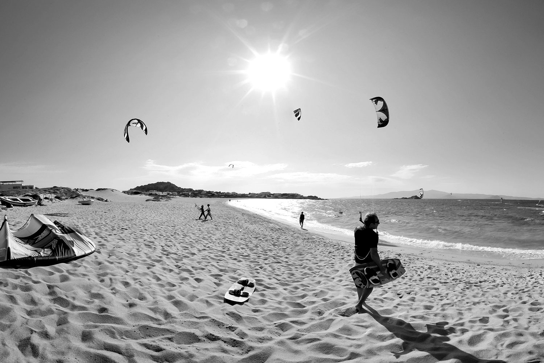wavespot Kitesurfen - Kite surfing in Mikri Vigla flisvos sportclub kitesurfing griekenland vakantie zomer summer