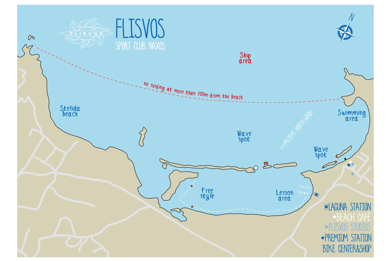 Flisvos Sportclub Naxos St. George Beach