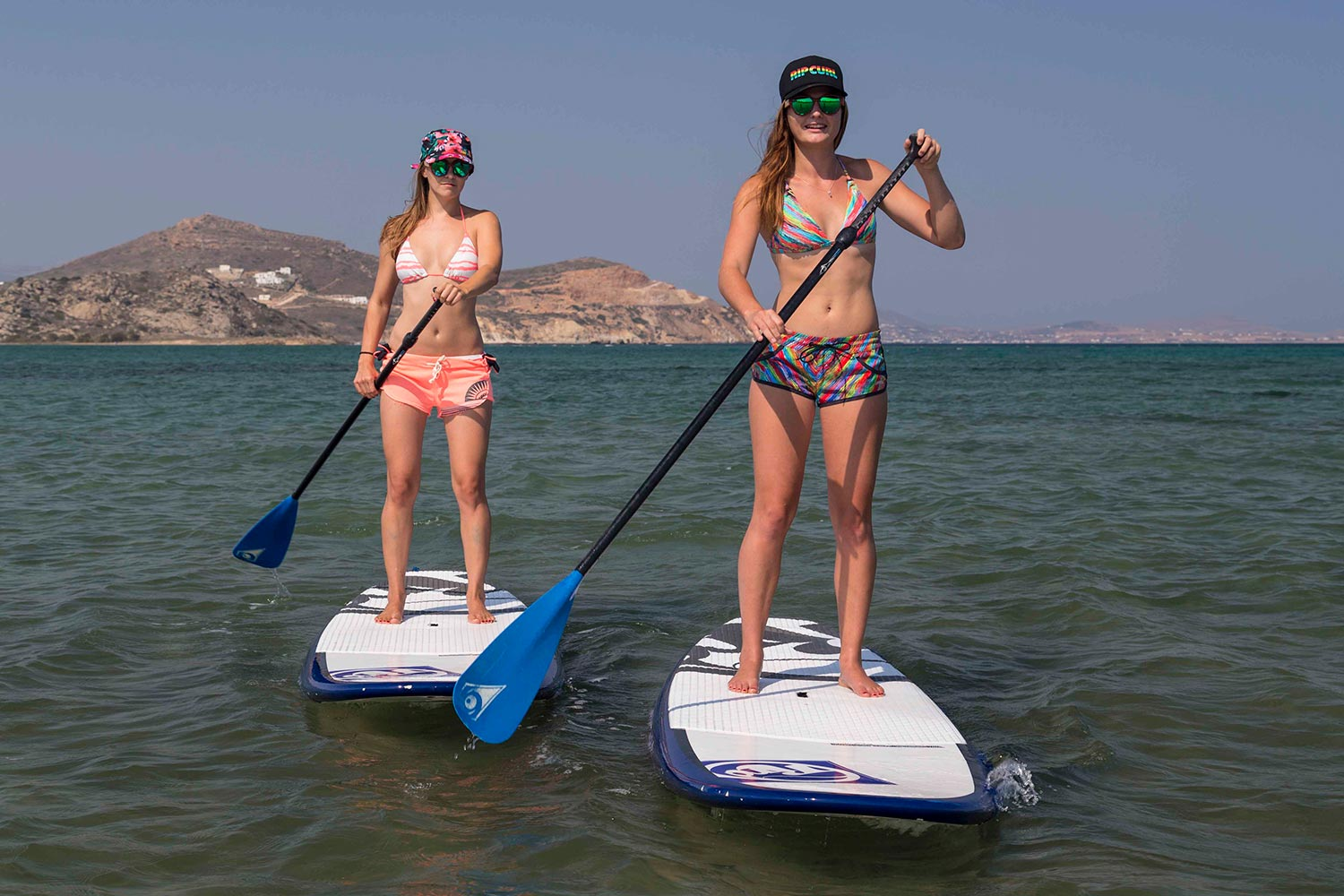 sup yoga camp windsurf naxos greece