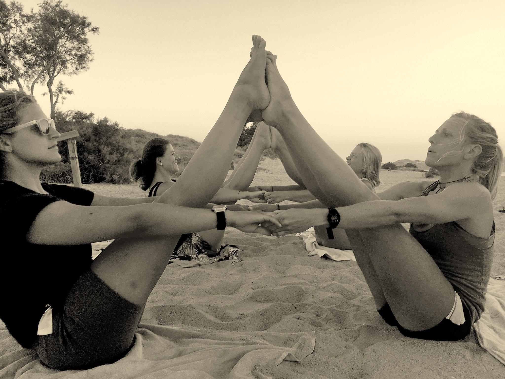 yoga camp naxos greece