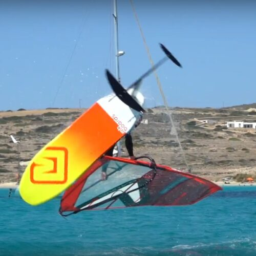 wing foiling naxos greece boat trip sea secret flisvos sport club greece naxos