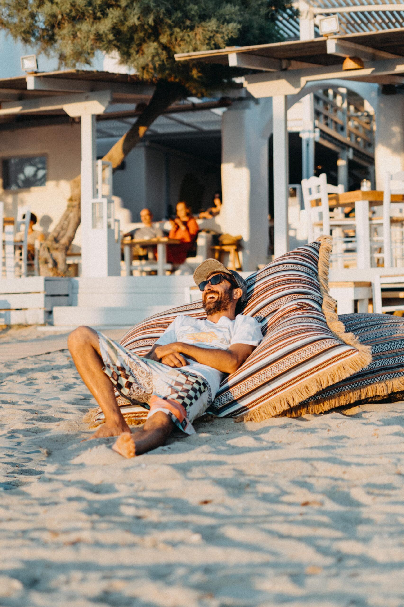 flisvos restaurant naxos chill beach restaurant bar cool place greece