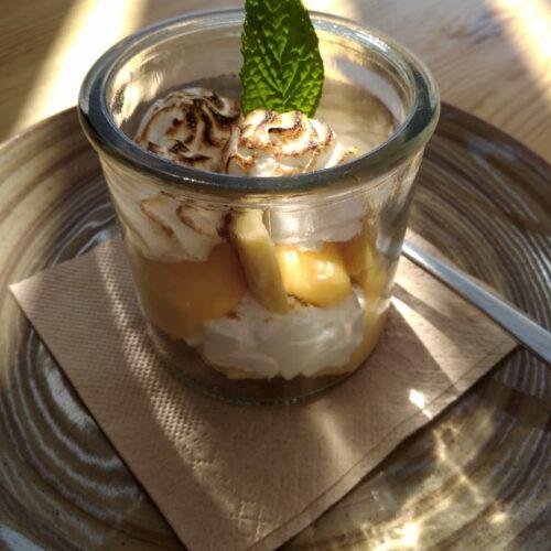 dessert flisvos beach cafe naxos