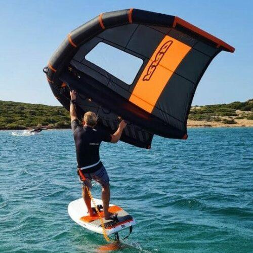 wing foil windsurf center vdws naxos greece flisvos sport club 2021
