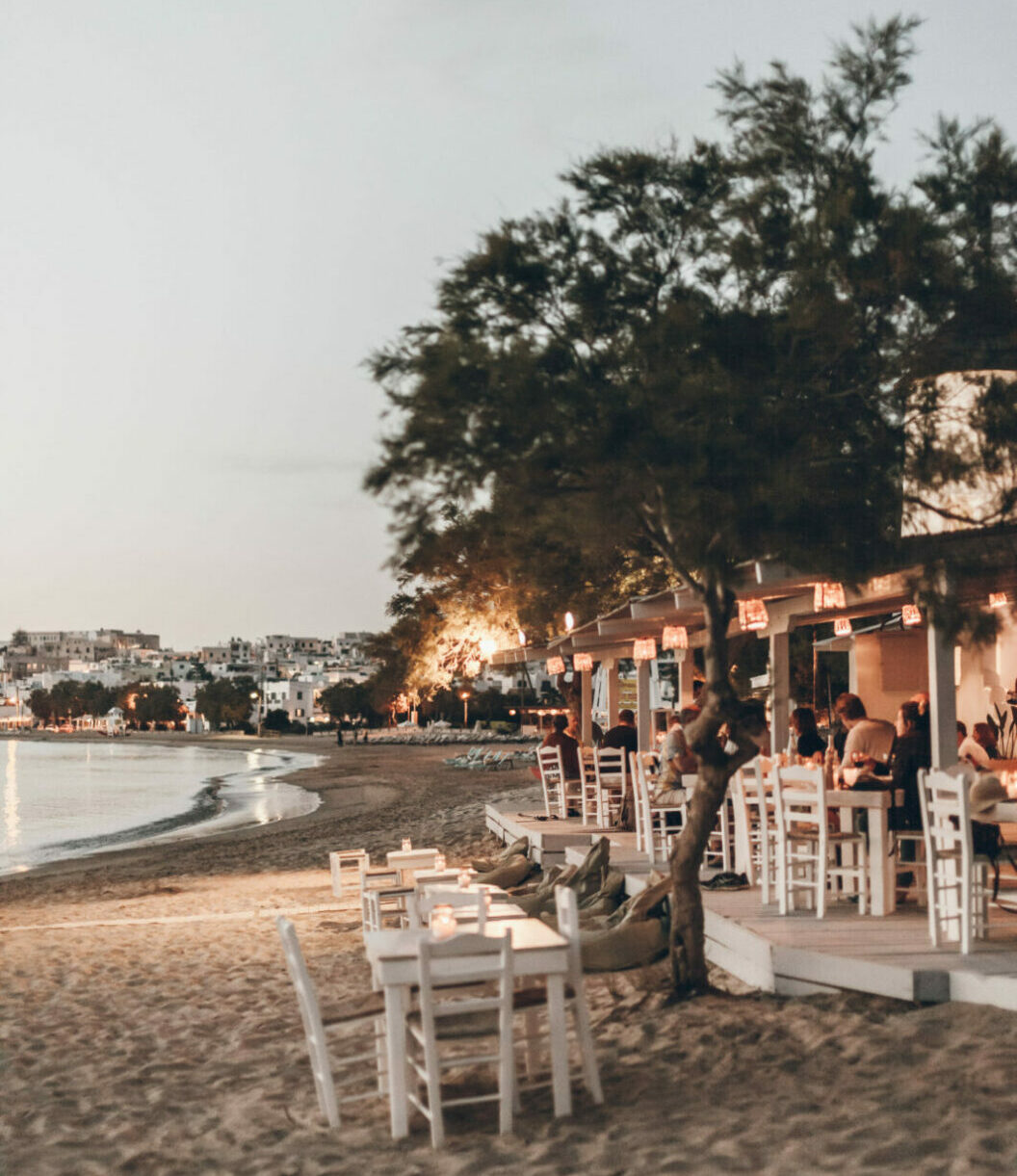 beach cafe evening flisvos sport club restaurant by the sea sunset