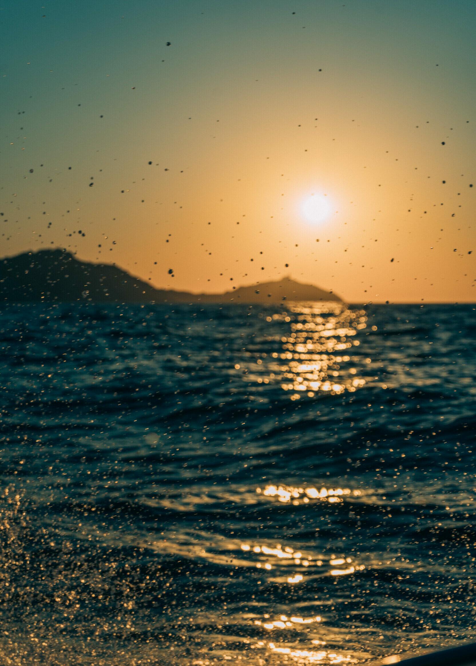 sunset seasecret boattrips boots touren naxos paros griechenland urlaub ferien sommer flisvos sport club