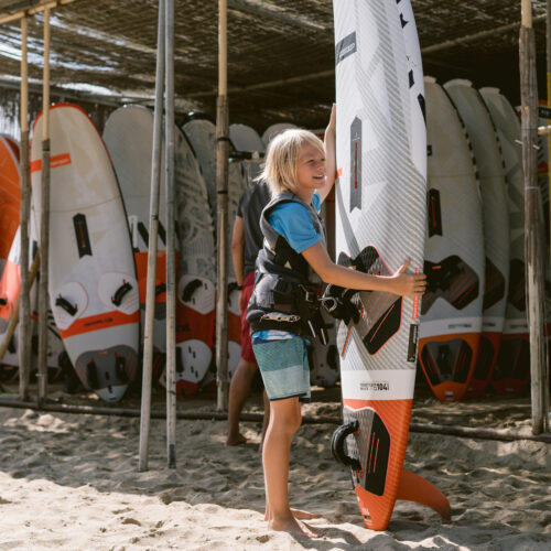 flisvos sport club laguna windsurf center naxos greece holiday kidscamp