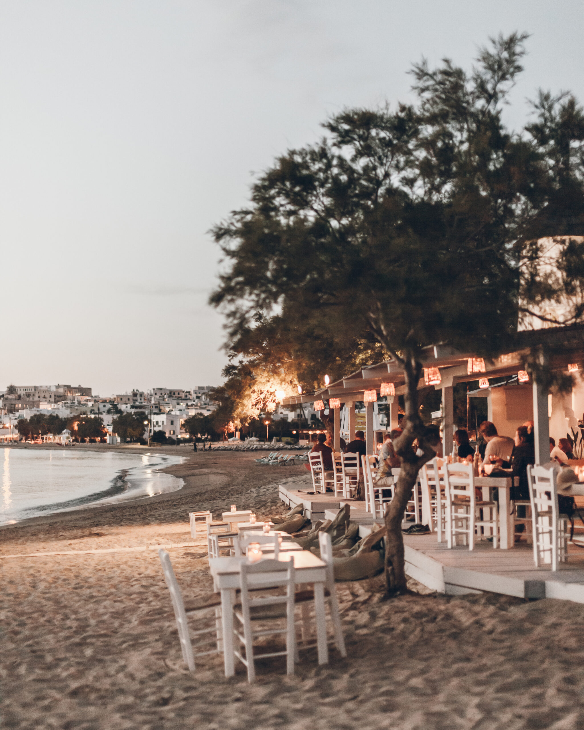 flisvos sport club bar sunset restaurant naxos summer 2021
