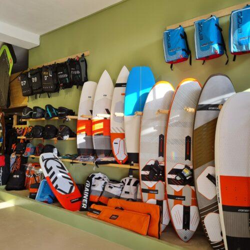 surfshop naxos greece flisvos sport club hurley ion mystic duotone rrd neilpryde sails boards