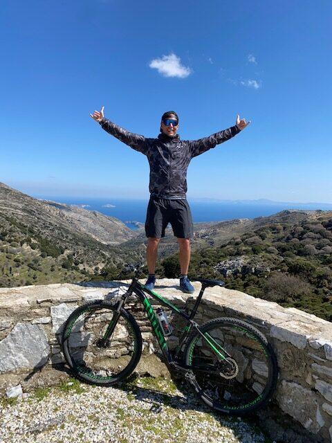 Ghost trekking trails mountainbike flisvos sport club naxos greece MTB