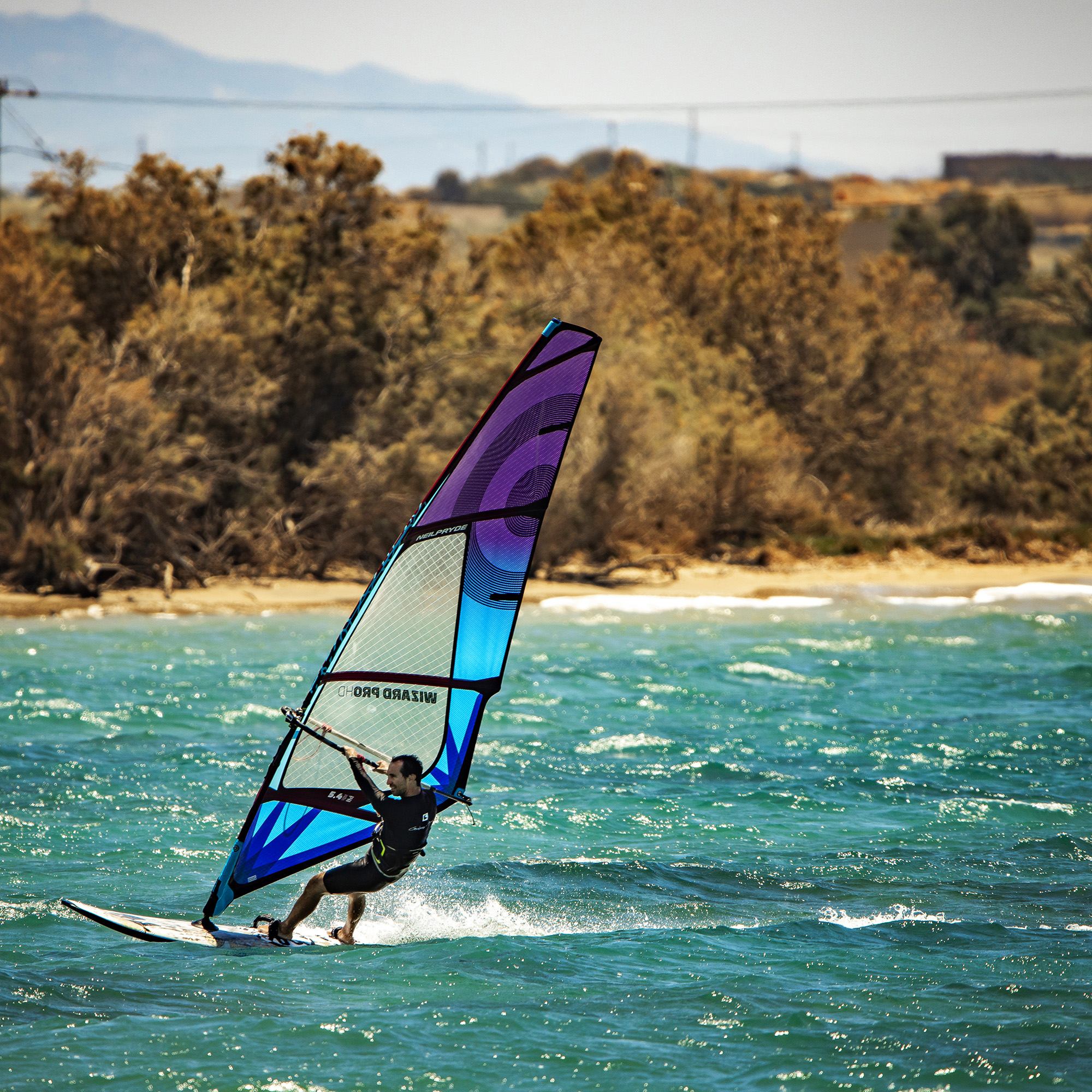 windsurfing wing Foiling at St. George Beach, Naxos, Greece flisvos sport club windsurf center wavespot vdws griekenland vakantie zomer summer neilpryde rrd roberto ricci surfcenter wavespot trendy young